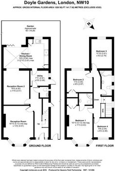 3 bed house floor plan rear extension google search home extension design plans