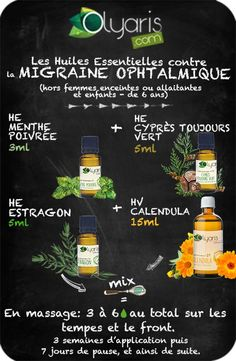Ophthalmic Migraine and Important Oils: THE Pure Treatment to Know for … Herbal Remedies, Natural Remedies, Eucalyptus Citronné, The Pure, Naturopathy, Lose Weight At Home, Reflexology, Natural Life, Beauty And The Beast