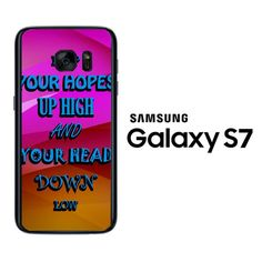 A Day To Remember Quote white D0279 Samsung Galaxy S7 Case