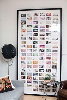 bild von fotos - für eine moderne wanddekoration - Zeit für Kunst – 48 Wanddekoration Ideen