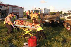 PHOTO: Rollover crash on CR 510 - (read more) #IndianRiverCounty