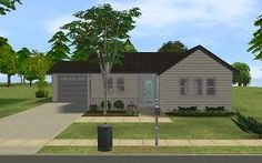 Mod The Sims - Small Suburban House