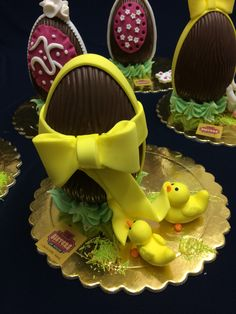 CHOCOLATE EASTER EGGS!
