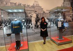 """CFK recorrió la muestra """"Evita: Embajadora de la paz"""" en el Museo de Historia de Moscú, donde se recrea la gira Arco Iris que realizó por los países devastados tras la Segunda Guerra Mundial - http://www.cfkargentina.com/cristina-en-rusia-inauguramos-la-muestra-evita-la-embajadora-de-la-paz-en-el-museo-historico-de-moscu/"""