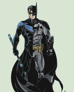 Nightwing & Batman