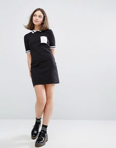Monki Colourblock Po