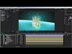 After Effects Tutorial - Particle Splash Logo Reveal Customization - YouTube
