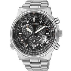 Buy Men's Citizen Watch BY0081-54E Promaster The Pilot Chrono Eco-Drive