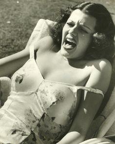 Rita Hayworth candid 1939