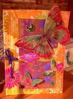 Postal-Libro Mariposas von La Terra auf DaWanda.com