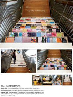 Ikea Staircase Drawer Ad repinned by www.BlickeDeeler.de