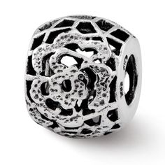 Sterling Reflections Bali Bead