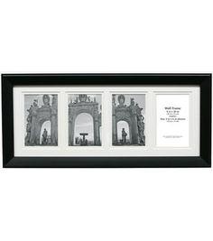 8''x20'' Black Collage Frame