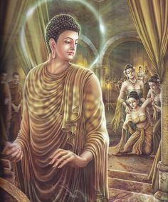 Buddha's Life Story Beautifully Painted