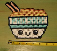 Pho Sho: Perler Bead Sprite Magnet or Wall Art. $7.50, via Etsy.