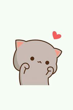 best friends dont hurt each other Kawaii Art, Kawaii Anime, Kawaii Chibi, Anime Cat, Cute Chibi, Anime Chibi, Locked Wallpaper, Cute Drawings, Kawaii Drawings