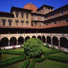 Laurentian Library (Biblioteca Medicea Laurenziana) - Florence, province of Florence Tuscany