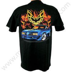 Pontiac Trans Am T Shirt - Flame 3bc3a69ed