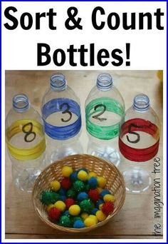 Sort & Count Bottles