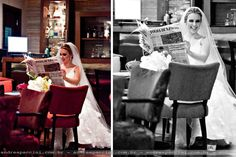 If my wedding were on a Sunday, and that was the New York Times... that would definitely be me.