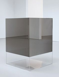 what ever you may think this is, it can never be, as it is Untitled / Larry Bell, 1969