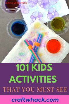 Here's a book of kid's activities that you must see today! Flip through the pages of the book and immediately see thing after thing you want to do with your kids. If you are inspired to do some project with your kids, check out this pin for more details. #kidsactivities # Easy Art Projects, Projects For Kids, Crafts For Kids To Make, Art For Kids, Fun Activities For Kids, Writing A Book, Creative Inspiration, The Book, Books