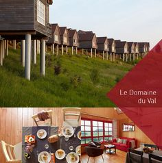 Vakantiehuisjes op Le Domaine du Val tot 6 personen - Sommevallei - blog.vierenveertig.be