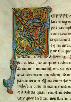VALENCIENNES, Bibliothèque municipale, 0005 (001) Biblia (NT) Langues : latin Date : 12e s. (1150-1165)