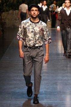 Acres - Waistcoat Print?  Dolce & Gabbana Men's RTW Spring 2013