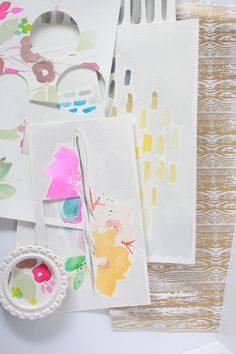 Pretty art on paper by Kim Stewart | Neroliskye