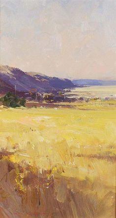 Ken Knight Landscape - oil on board