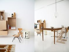 love the plywood cabinets