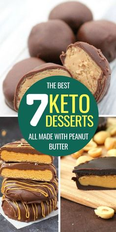 Peanut butter is one of the best ingredients to make delicious keto desserts − and here are 7 delicious keto peanut butter recipes for you! peanut butter chocolate for peanut butter lovers peanut butter with peanut butter easy Peanut Butter Mug Cakes, Keto Peanut Butter Cookies, Low Carb Peanut Butter, Peanut Butter Cheesecake, Peanut Butter Recipes, Keto Cheesecake, Blueberry Cheesecake, Keto Desserts, Keto Snacks