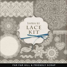 Far Far Hill: New Freebies Lace Kit