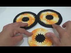 Vera Barbosa shared a video Diy Crochet Owl, Owl Crochet Patterns, Crochet Mat, Crochet Potholders, Crochet Doilies, Crochet Decoration, Projects To Try, Stitch, Crafts