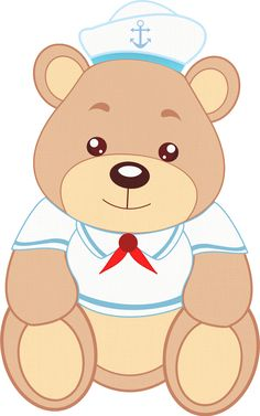 Montando a minha festa Imagens: Urso Marinheiro