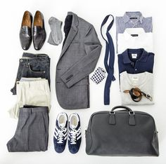 The latest men's fashion including the best basics, classics, stylish eveningwear and casual street style looks. Shop men's clothing for every occasion online Travel Wardrobe, Men's Wardrobe, Capsule Wardrobe Men, Teacher Wardrobe, Style Outfits, Mode Outfits, Classy Outfits, Casual Outfits, Mode Masculine
