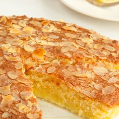 Healthy Dessert Recipes, Healthy Baking, Baking Recipes, Cake Recipes, Almond Coconut Cake, Almond Cakes, Coconut Oil, Stevia, Happiness Is Homemade