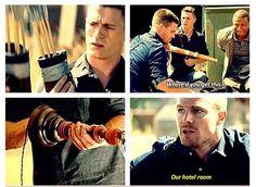 Arrow - Roy and Oliver #3.3 #Season3