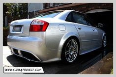 Bruno Correia Audi Regula Tuning Body kit front bumper bar right side with side skirts Audi A4, Bmw, Skirts, Projects, Cars, Sports, Log Projects, Blue Prints, Skirt