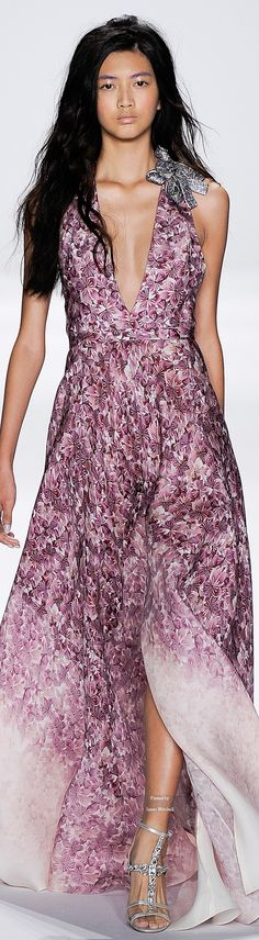 Badgley Mischka Spring Summer 2015 Ready-To-Wear collection