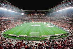 Estadio da Luz, Benfica. Benfica 2 Braga 1. Bruno Cesar's last minute winner. Incredible atmosphere!