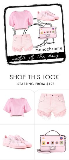 """""""outfit of the day #40"""" by whyfashionblog on Polyvore featuring moda, TIBI, Gaëlle Bonheur, Tod's, Fendi, Tim Holtz e monochromepink"""