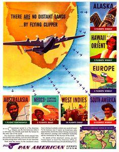 Pan-American Airways -1940