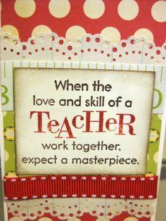 Teacher Appreciation Cards | Indigo Wings: Teacher Appreciation Bookmark Cards