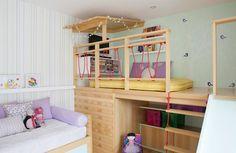 Resultado de imagem para ideias mezaninos quarto criancas