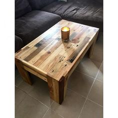 Jigsaw pallet coffee table. Another addition to our one off custom collection. #recycle #recycled #recycledtimber #recycledfurniture #pallets #pallet #palletfurniture #coffeetable