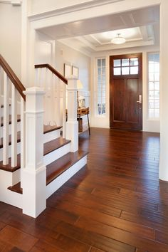 The interior of your Masonite front door is the perfect piece of art for your Craftsman style entryway