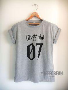 Harry Potter Shirt Gryffindor 07 Quidditch T-Shirt