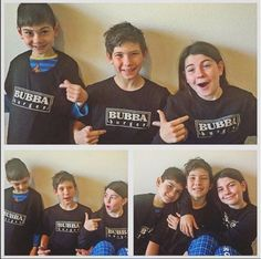 Shout out to @erinmholbrook for these great shots of some young BUBBA fans! #BUBBA #BUBBAburger #BUBBAburgers #hamburger #cheeseburger #family #fanpic #grill #friends #cookout #grillmaster #BUBBAfans #USDAChoice #burgers #clothing #kidfriendly